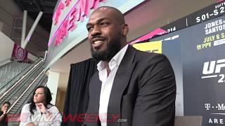 Jon Jones: The fear is real (UFC 239)