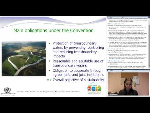Webinar: Groundwater and International Law - December 11, 2013
