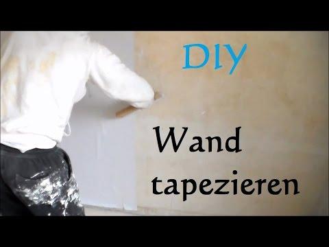 Tapezieren Doppelschnitt Wandgestaltung Wand Wände Doppelnahtschnitt ...