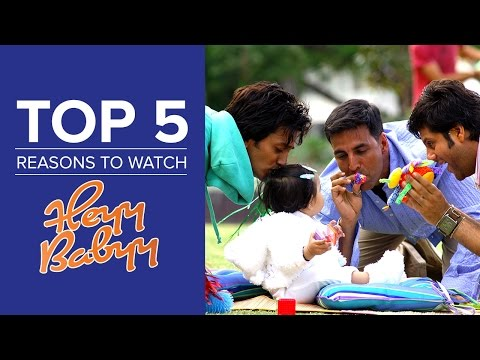 Top 5 Reasons To Watch Heyy Babyy | Akshay Kumar, Fardeen Khan & Ritesh Deshmukh