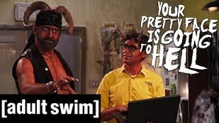 Satan ist 'ne Pussy   Your Pretty Face is Going to Hell   Adult Swim De