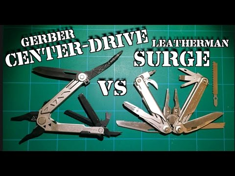 Gerber Center-Drive VS Leatherman Surge: Comparison Review