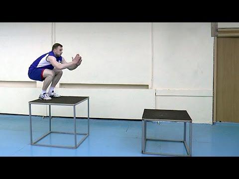 Волейбол обучение.  Как увеличить высоту прыжка