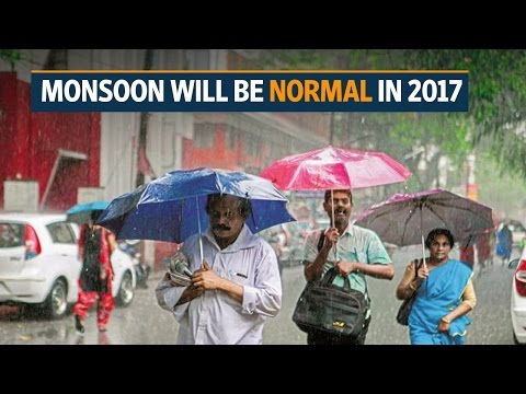Monsoon will be normal in 2017: IMD