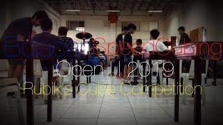 Bulacan SpeedCubing Open II 2019 | Rubik's Cube Competition