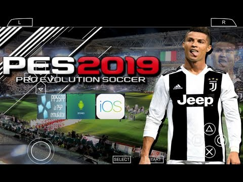 PES 2019 PSP (PPSSPP / iOS / ANDROID) New Transfers, Kits, Faces Atualizado Download ISO
