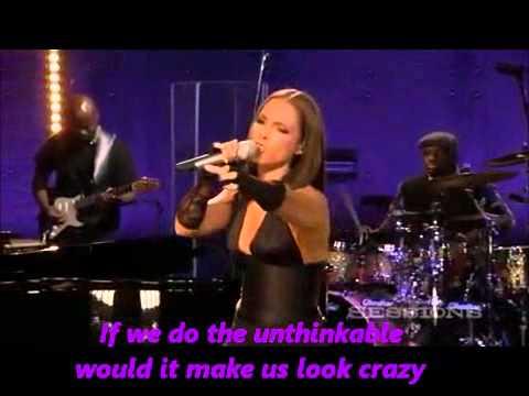 Alicia keys unthinkable lyrics