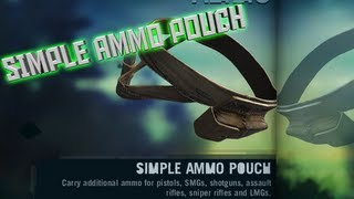 How To Make The Simple Ammo Pouch - Far Cry 3