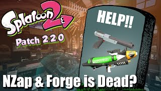 Splatoon 2 - Forge & N-Zap Nerf but how badly?! (Patch Notes 2.2.0 )