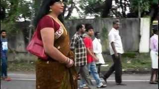 Mayamohini - Mayamohini in saree