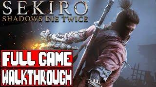 SEKIRO SHADOWS DIE TWICE Gameplay Walkthrough Part 1 FULL GAME - No Commentary [LIVESTREAM ]