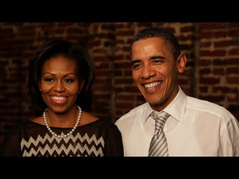 The First Couple on their First Meal Together: Dinner with Barack and Michelle