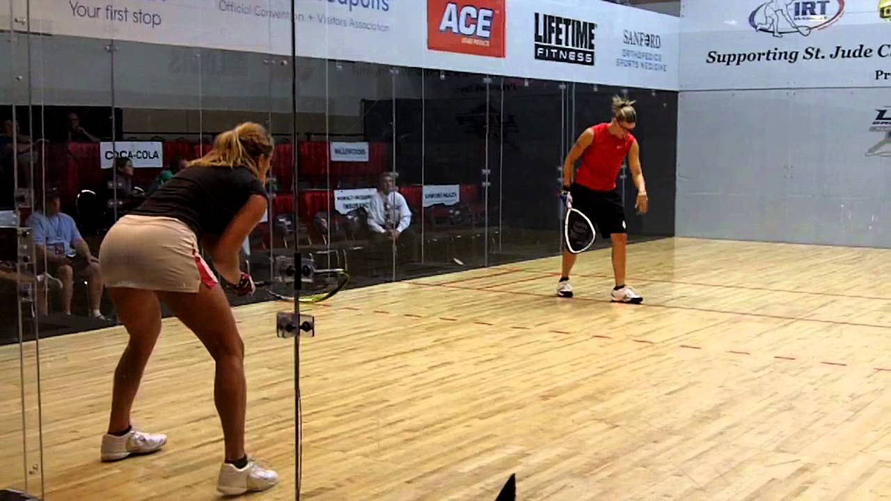 Squash vs racquetball
