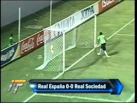 Real Espana 0-0 Real Sociedad Tocoa