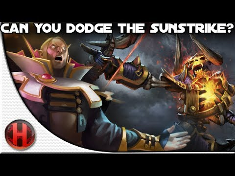 Dota 2 - Can you dodge the Sunstrike?