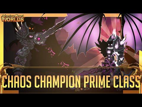 =AQW= Chaos Champion Prime Class FULL GUIDE (Drakath's Ending)