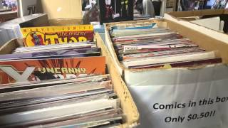 Things Nerds do #1 , comic shop visit and tour