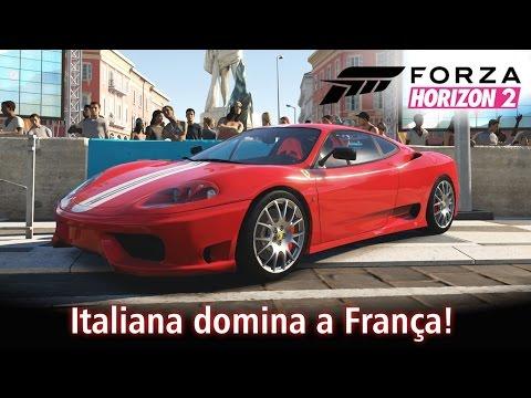 Italiana domina a França! | Forza Horizon 2 [PT-BR]