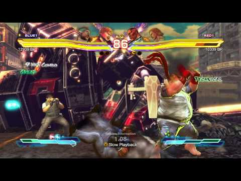 SFxT~ OKAYU S (Rufus & Bob) vs. one two kamason (Dudley & Steve) HD