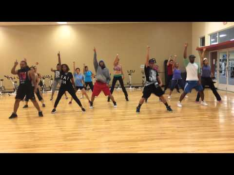 Chris Brown ft Usher and Rick Ross New Flame (Cardio Dance Choreography)