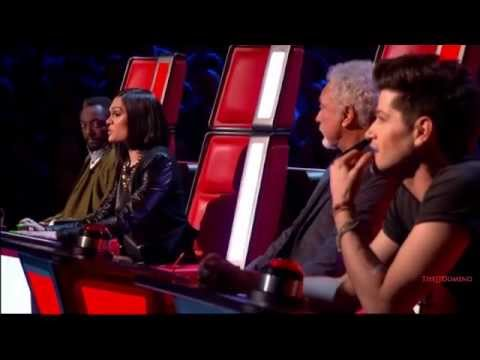 Jessie J The Voice UK Season 2 Best Moments S02E01