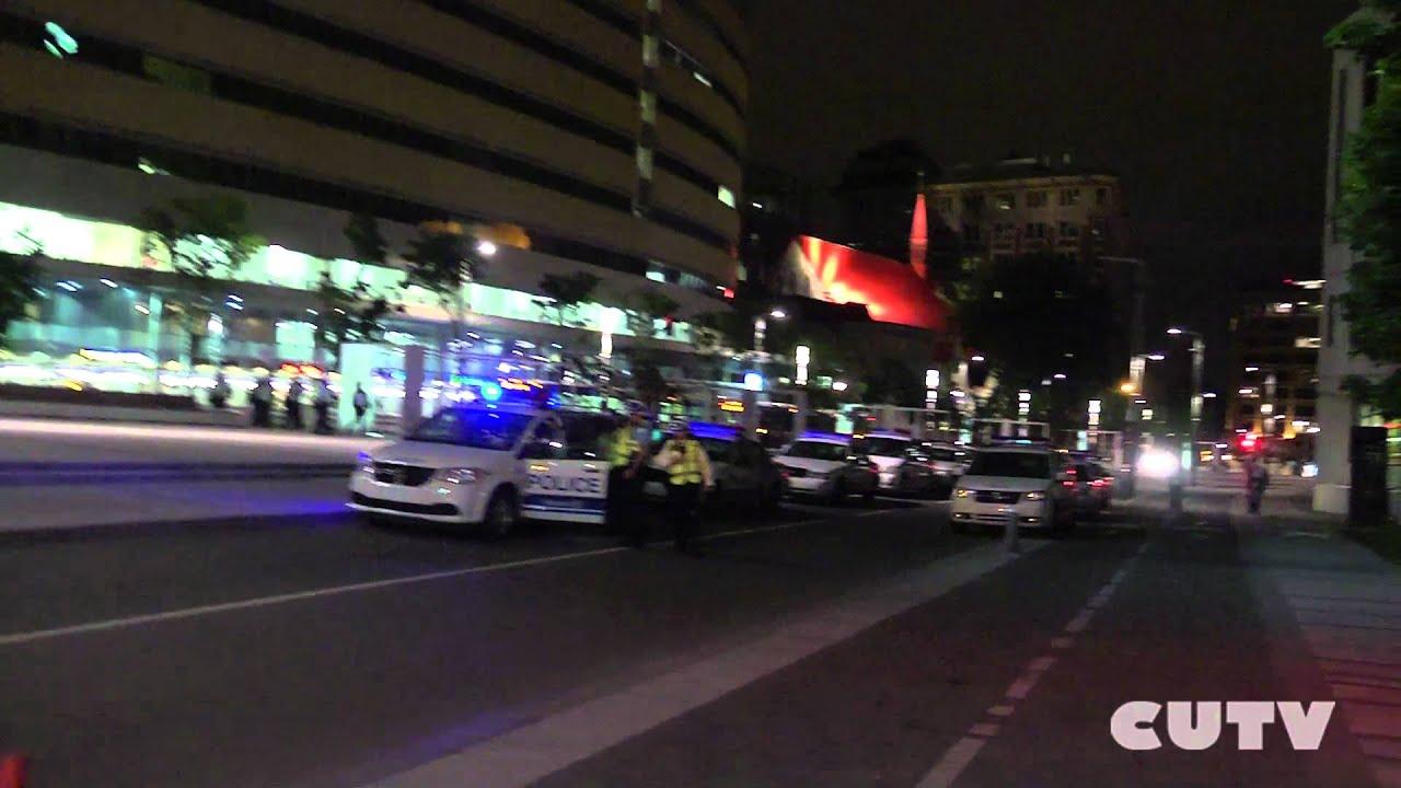 4 Juin 2012 - CUTV - Policiers cachent leur matricule. HD VERSION