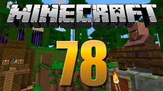 Kokiri Jungle Finalizada / Troca com Aldeões - Minecraft Em busca da casa automática #78.