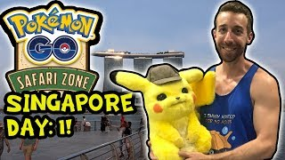 HANGING OUT WITH DETECTIVE PIKACHU IN SINGAPORE! SINGAPORE VLOGS PT. 1
