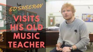 Download Lagu Ed Sheeran visits his former music teacher in Suffolk Gratis STAFABAND