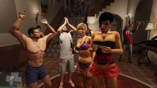 GTA 5 MOD VITA DA GANGSTER :VIGILIA DI NATALE DA MICHEAL,ABBIAMO PRESO FUOCO #10