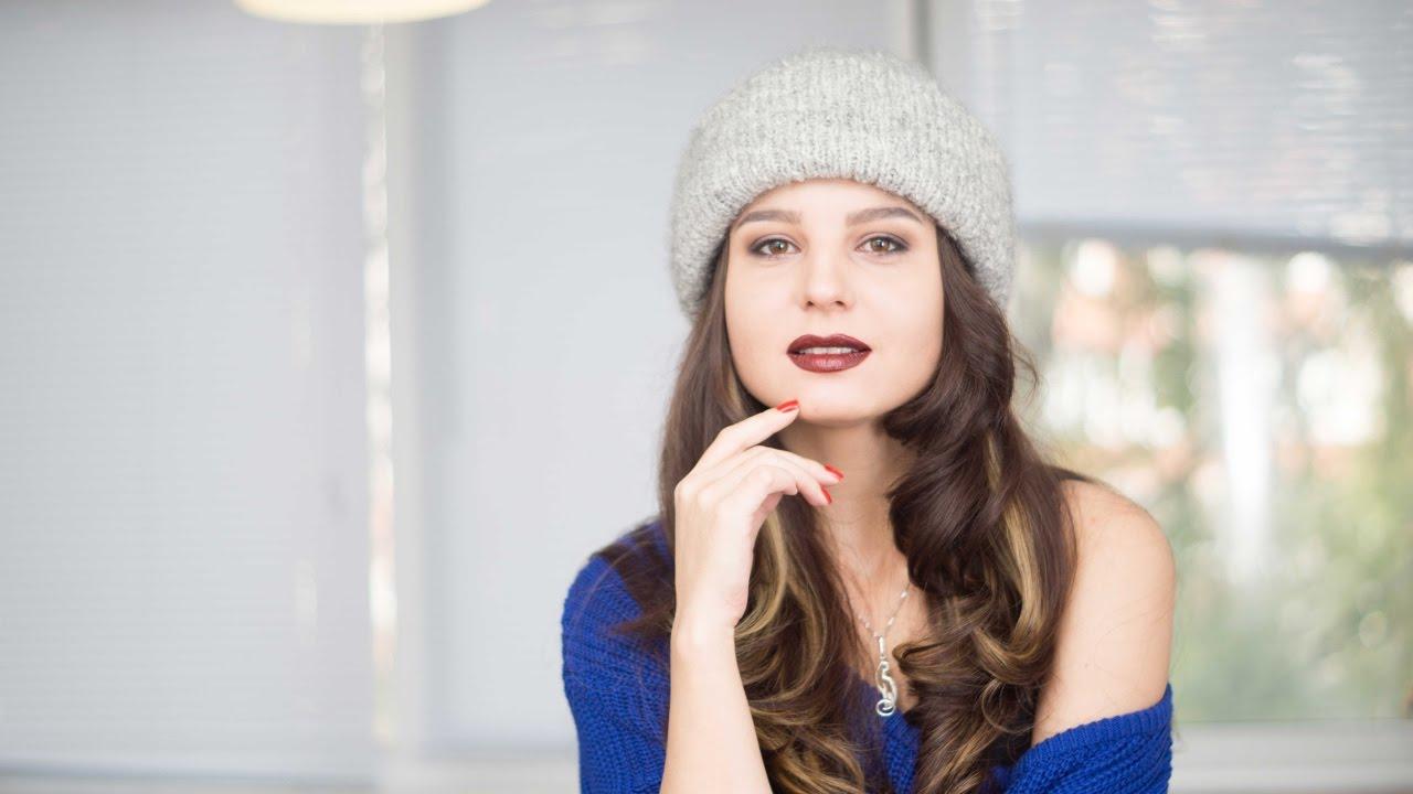 Sasha moon вязание шапка 45