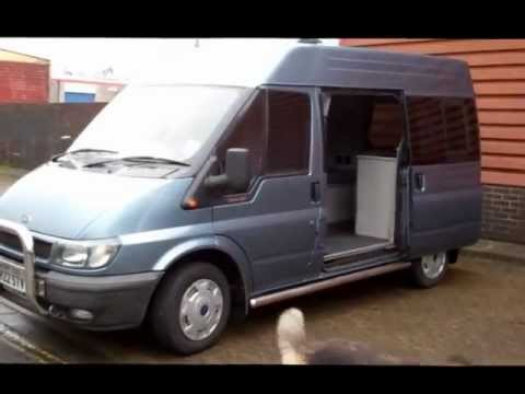 HOW TO CONVERT A CAMPERVAN PART 15 FORD TRANSIT