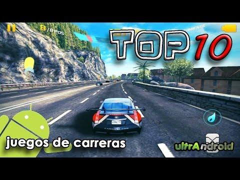 ¡¡¡TOP 10!!! Mejores Juegos de Carreras para Android 2014
