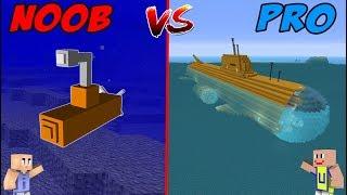 MINECRAFT: NOOB VS PRO - Kapal Selam Modern