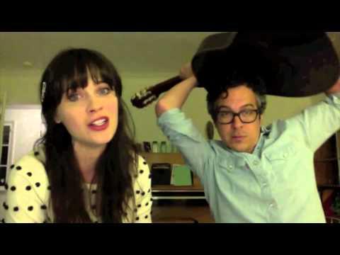"""... Karaoke - Zooey Deschanel + M.Ward - """"Stars Fell On Alabama"""" - ..."""