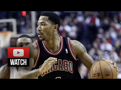 Derrick Rose Full Highlights at Trail Blazers (2013.11.22) - 20 Points, Knee Injury