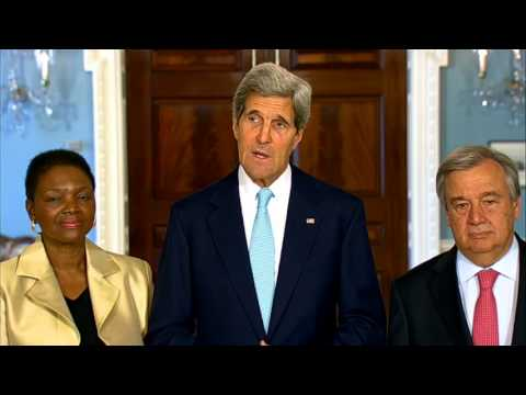 Secretary Kerry Delivers Remarks Before the Meeting of International Humanitarian Agency Heads