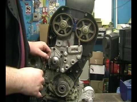 Rover K Series Cambelt Change Video Youtube