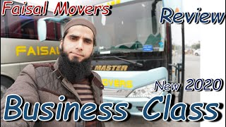 Travel Log 10 : Faisal Movers new updated Business Class Bus Service - 2020