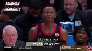 2019 McDonald's All-American Game- Full  Game Highlights