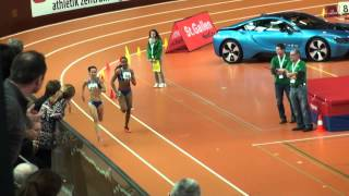 Leichtathletik: Hallen-SM 2015 Final 200 m Frauen