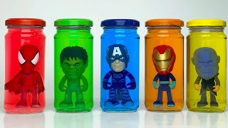 Pj Masks Toys And Color Cups With Colorful Gels Learn Colors Wrong Head