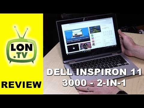 Dell Inspiron 11 3000 2 In 1 Laptop Review - New 2016 I3 Version - I3158-3275SLV