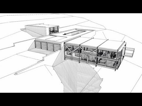 How to design like an architect a modern home youtube for Home plan architect