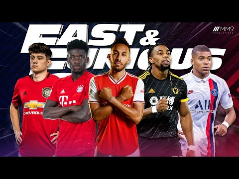 Play this video Top 10 Fastest Football Players 2020
