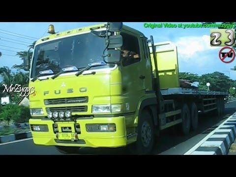 Trucks Truckers Mitsubishi Fuso Super Great Tractor Head