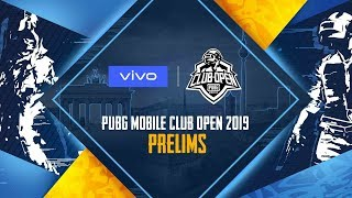 [EN] PMCO 2019 Prelims Day 1 | Vivo | PUBG MOBILE CLUB OPEN