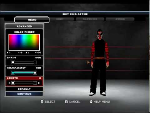 CAW Jeff Hardy wwe 13 wii .mp4