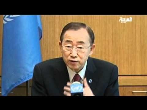 Ban Ki-moon Says Syrian President Lacks Credibility