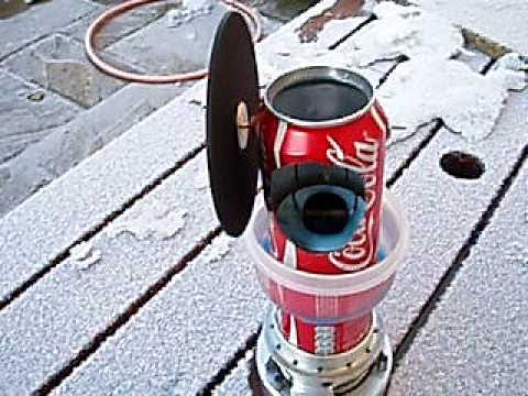 Coca Cola Can Engine